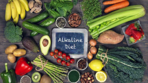 Alkaline food