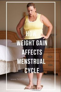 How Weight Gain affects Menstrual Cycle