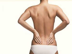 Menstrual Pain in Lower Back.