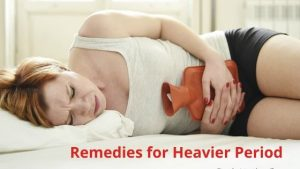 remedies for heavier period