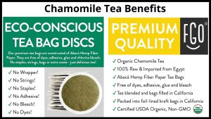 Chamomile Tea Benefits